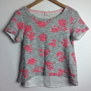 Postmark Anthropologie Floral Shirt